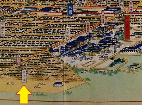 鳥瞰図 吉田初三郎 1936年 札幌飛行場