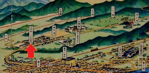 鳥瞰図 吉田初三郎 1936年 歩兵第25連隊