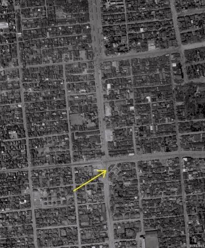 空中写真 1961年 南9条緑地