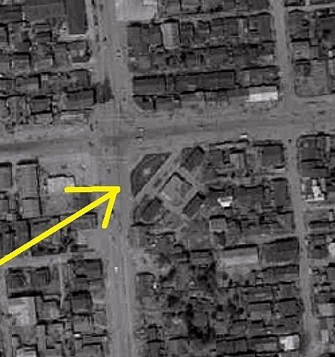 空中写真 1961年 南9条緑地 拡大