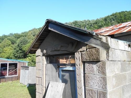 島松軟石 Hさん宅 旧宅