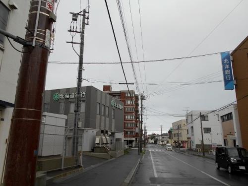 函館 末広町 十字街付近から北望