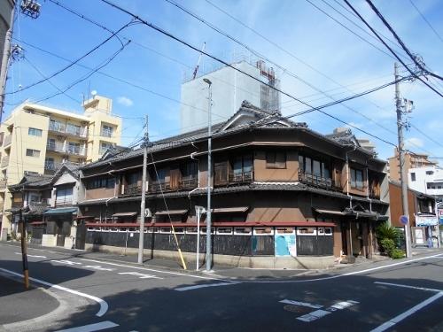名古屋 O橋界隈 古い家屋