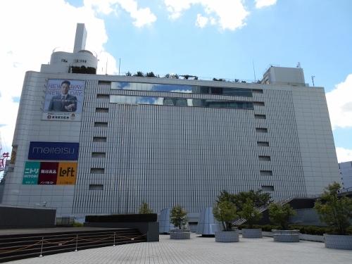 名鉄百貨店本館 北側