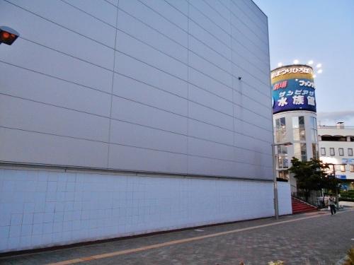 サンピアザ水族館 外壁