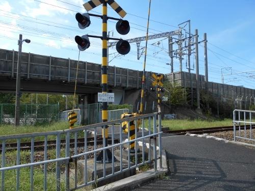 名古屋 臨港線 八島踏切