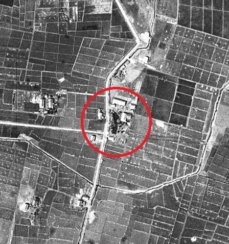 空中写真 1948年米軍 東裏 Sさん宅