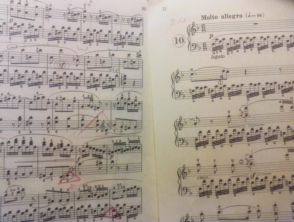 ベートーヴェン&ツェルニー