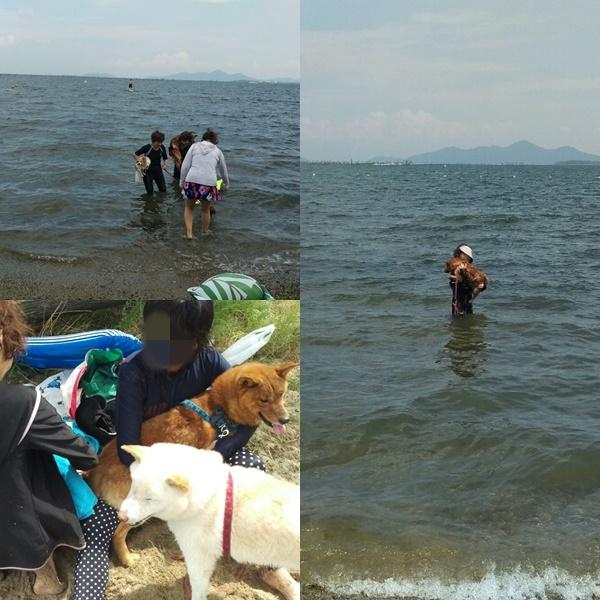 琵琶湖の休憩&玄武の初体験