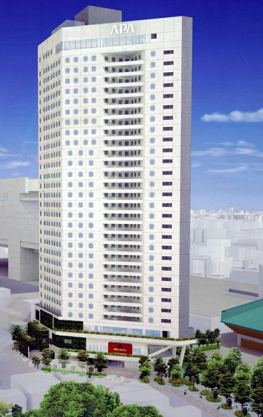 アパホテル & リゾート 両国 駅 タワー