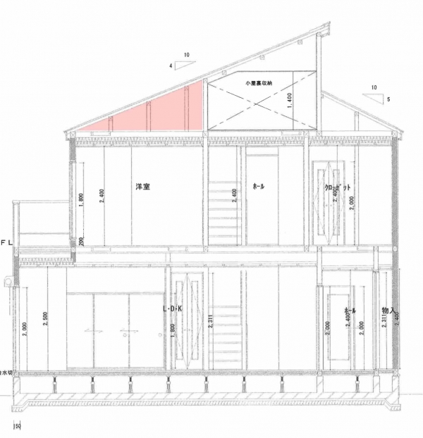 屋根裏の場所1