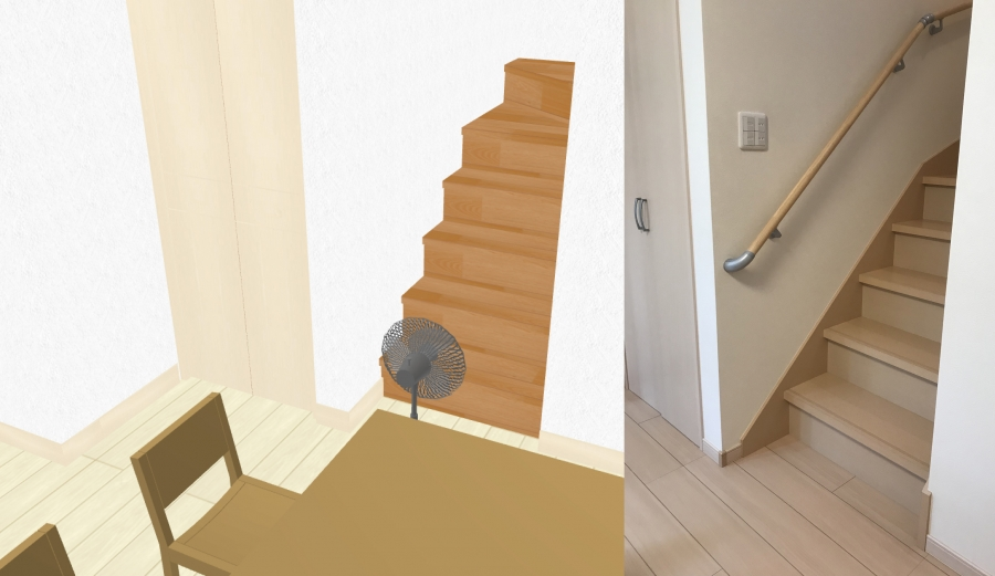 一階階段の扇風機2_合成
