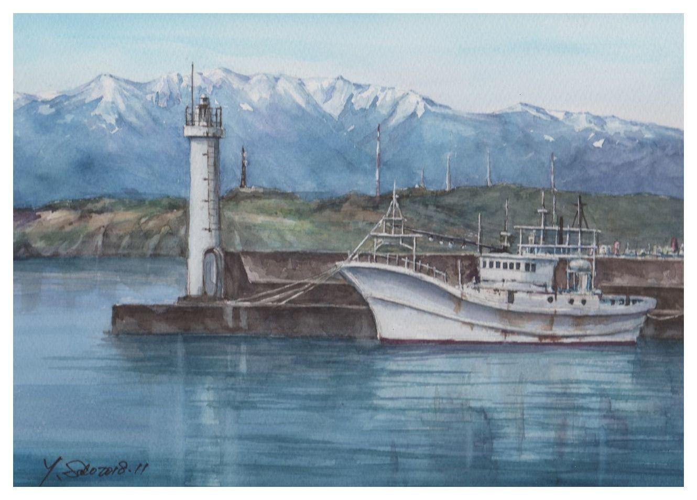 2018年11月早春の漁港