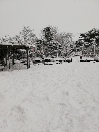 20181128 旭川 男山酒造り資料館 前庭