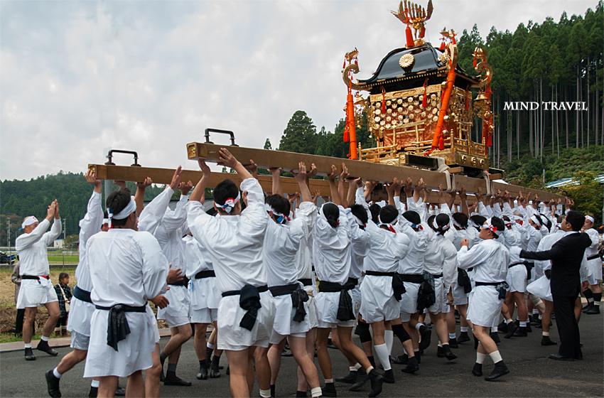 山国神社 神輿