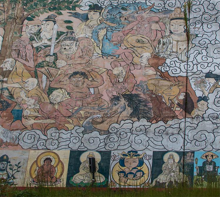 禅定寺 壁画2