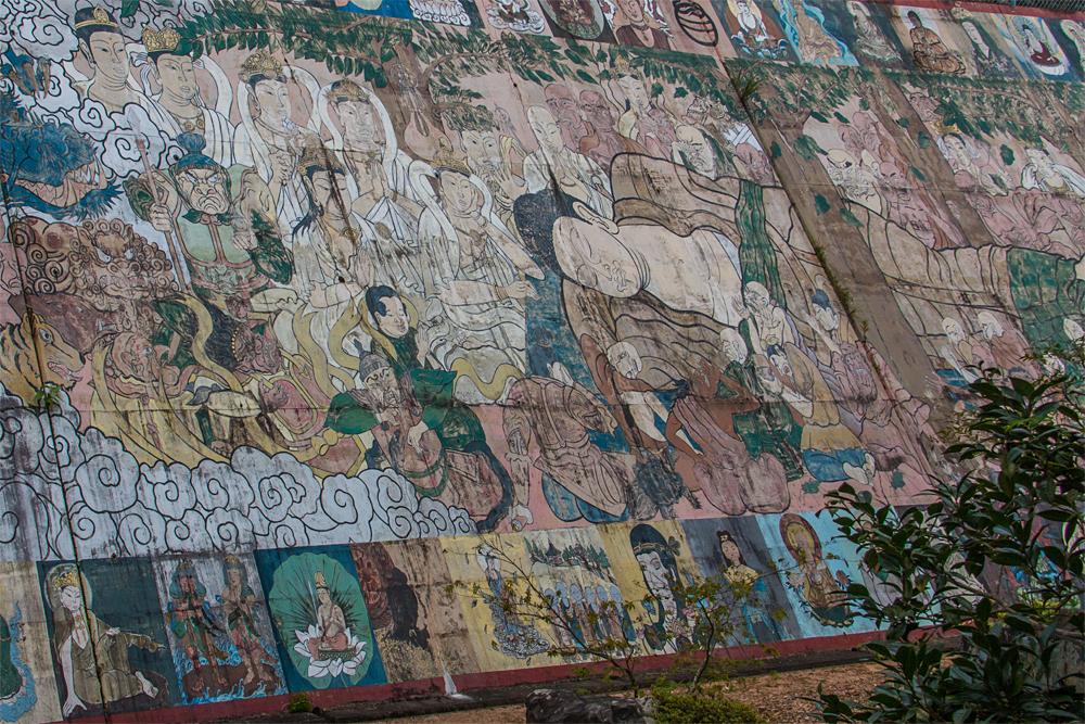 禅定寺 壁画3
