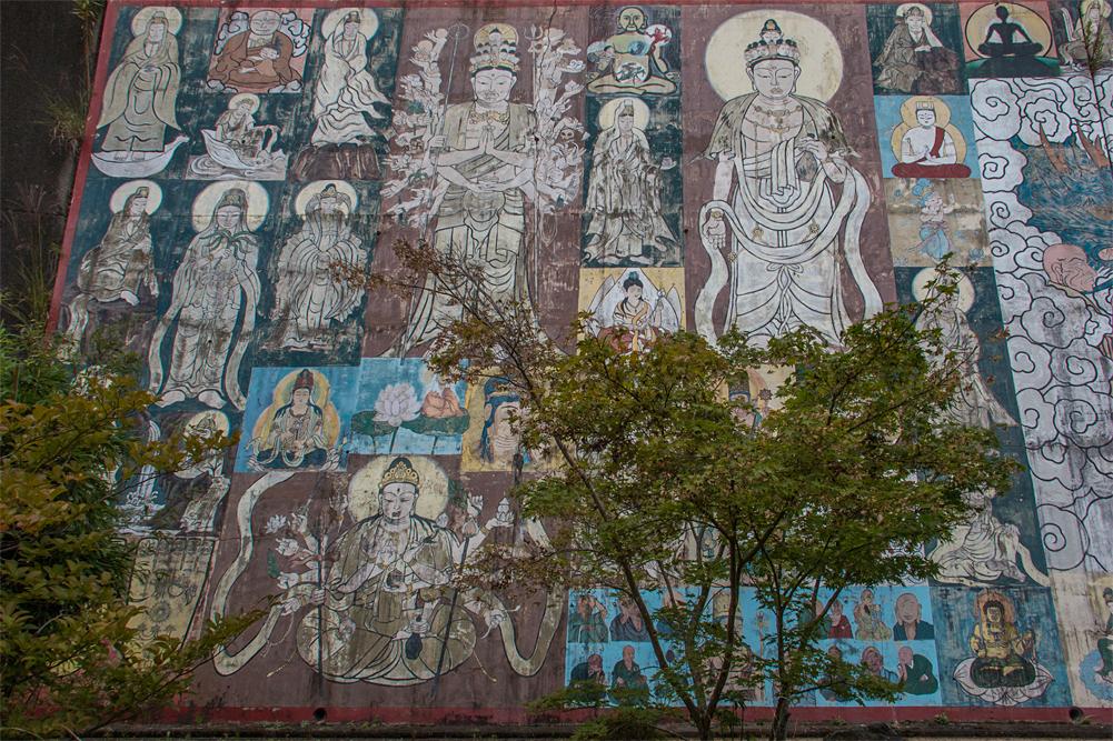禅定寺 壁画4jpg