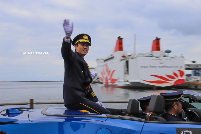 大阪市消防出初式 吉村市長
