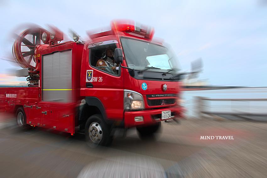 大阪市消防出初式 消防車2