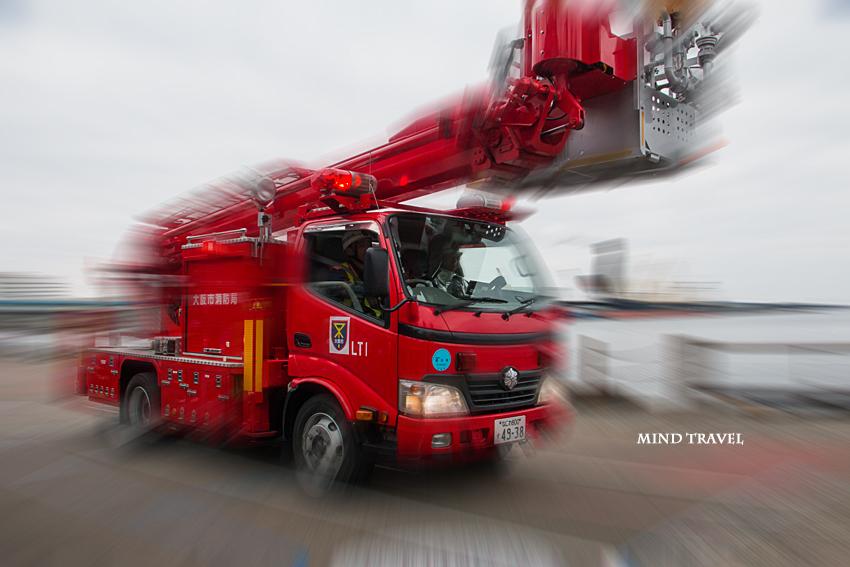大阪市消防出初式 消防車1