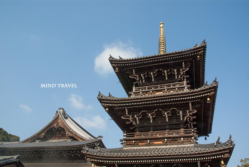 水間寺 三重塔2