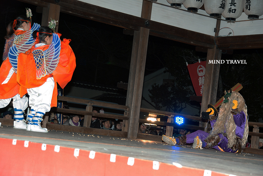 藤森神社 追儺式2