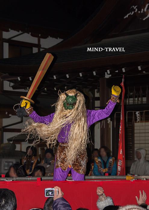 藤森神社 紫鬼2