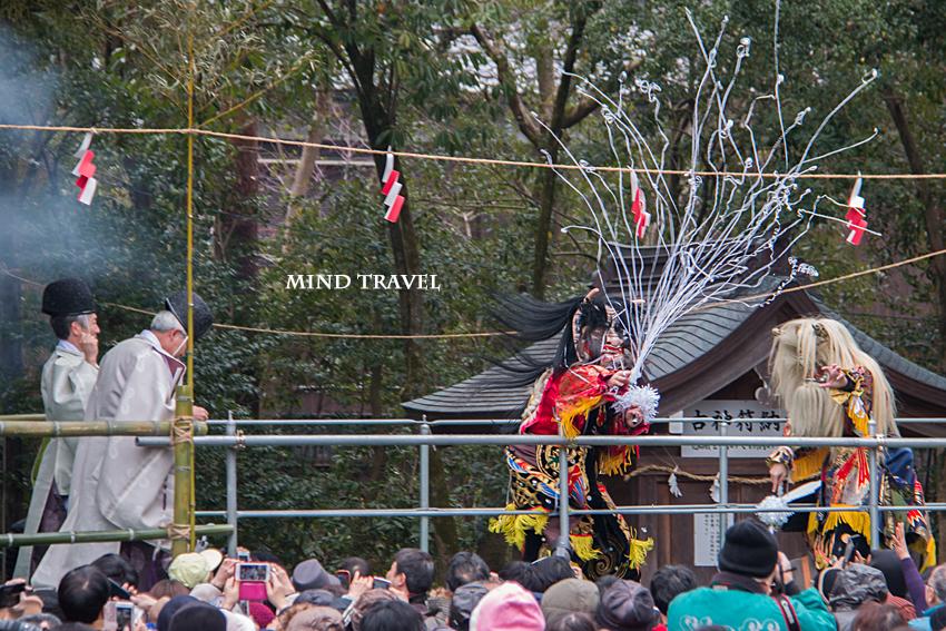 多賀大社 節分祭