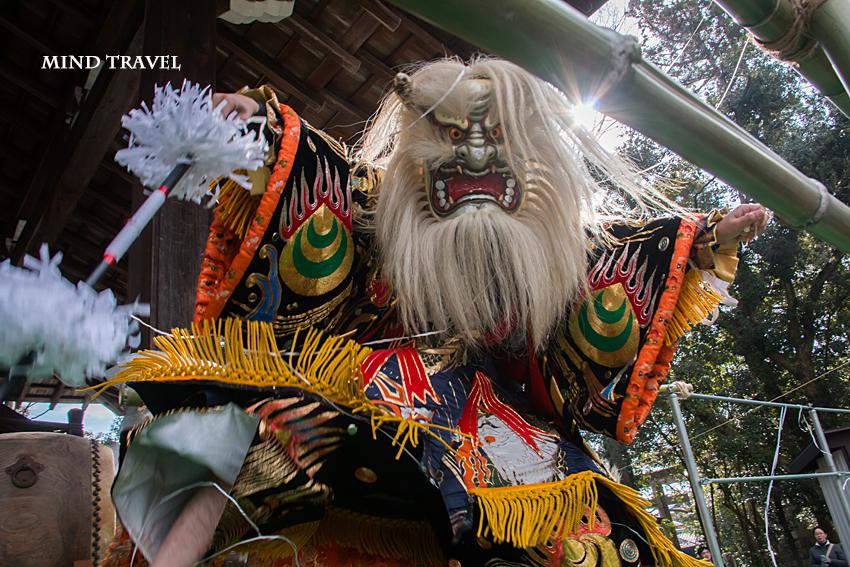 多賀大社 節分祭-白鬼