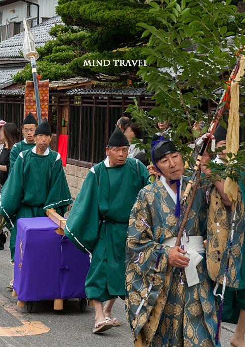 馬見岡綿向神社 日野祭 行列3