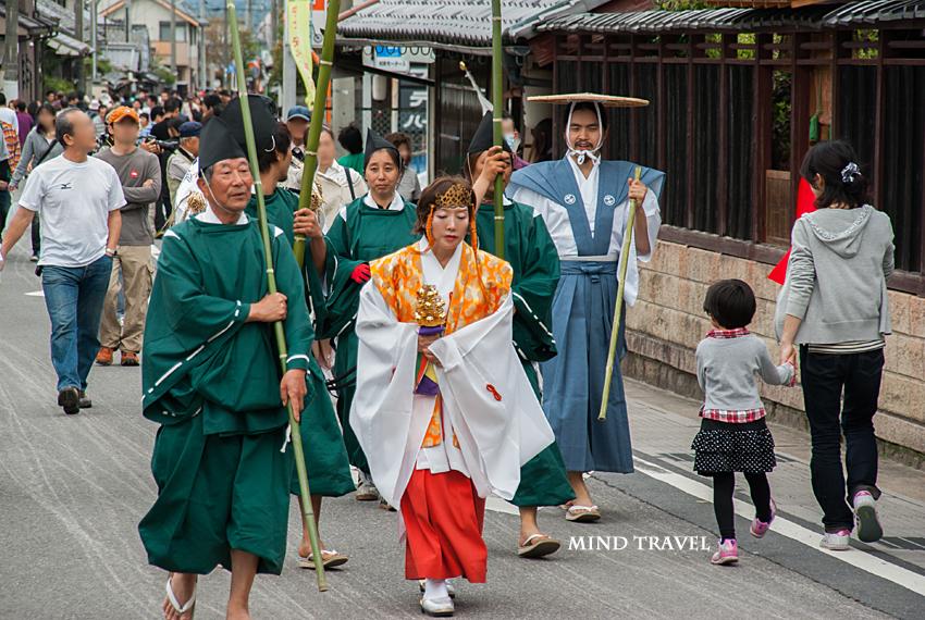 馬見岡綿向神社 日野祭 行列2