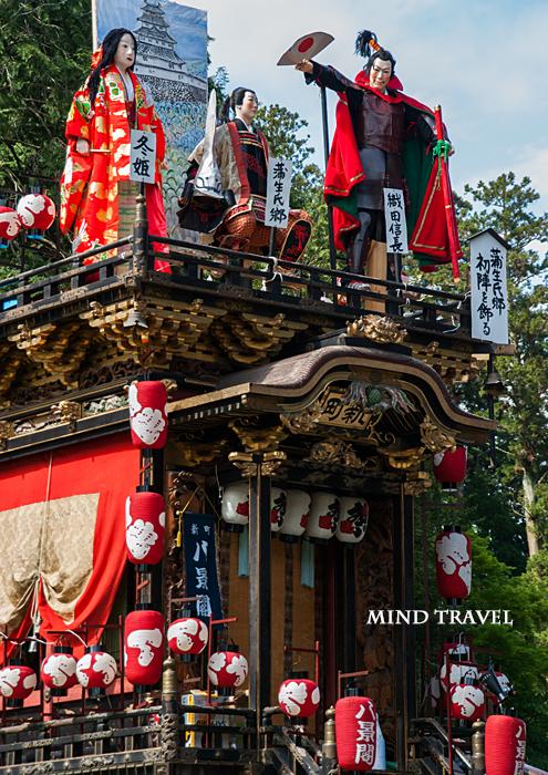 馬見岡綿向神社-日野祭 曳山2