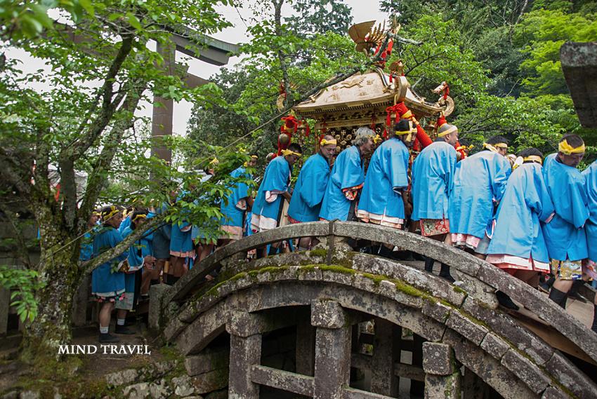 馬見岡綿向神社-日野祭 神輿