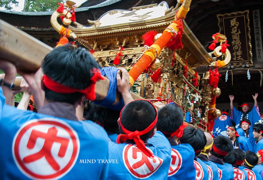 馬見岡綿向神社-日野祭 神輿2