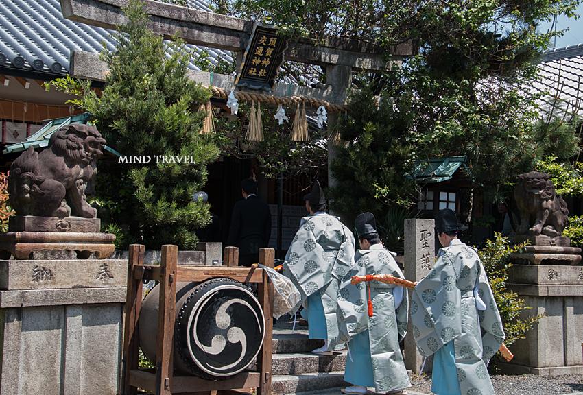 須賀神社 角豆祭