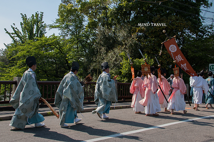 須賀神社 角豆祭-鉾 弓矢