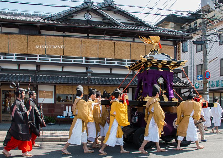 須賀神社 角豆祭-神輿