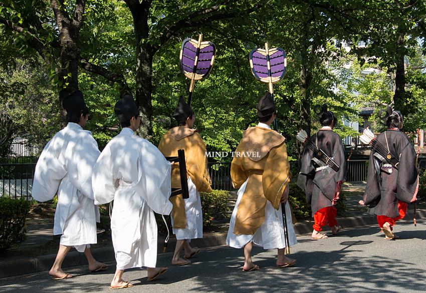須賀神社 角豆祭-弓矢 団扇