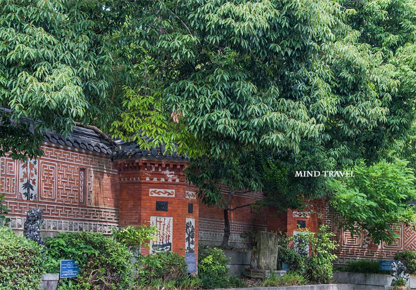 鶴見緑地 韓国庭園