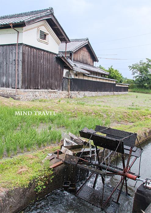 三重県伊賀市上林の水車