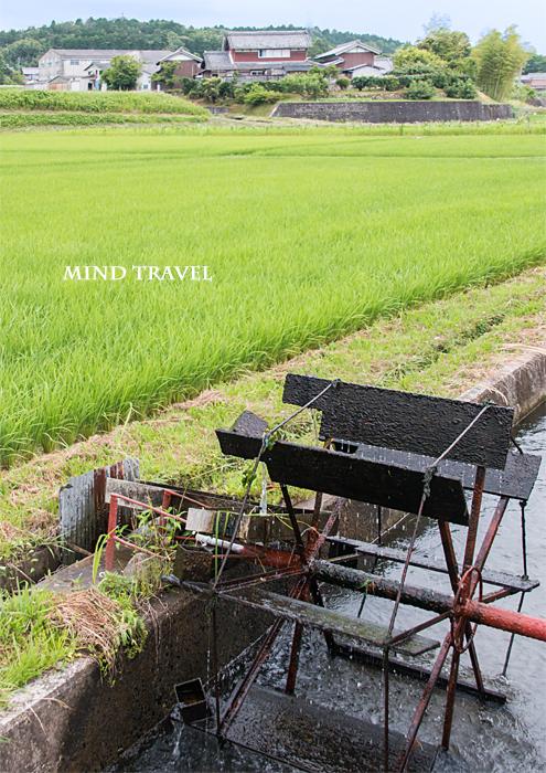 三重県伊賀市上林の水車3