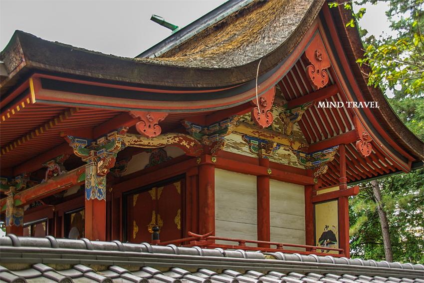 片埜神社 神殿
