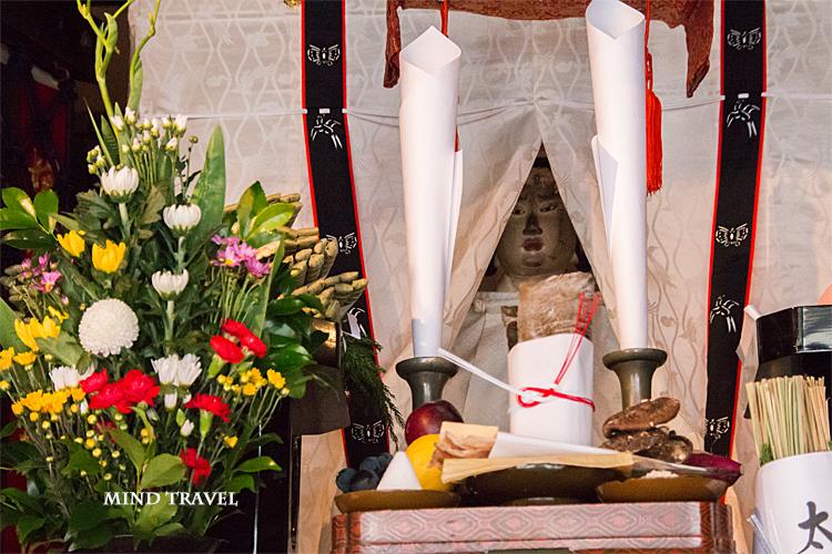 祇園祭 太子山 ご神体