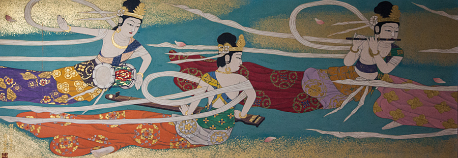 西福寺 壁画