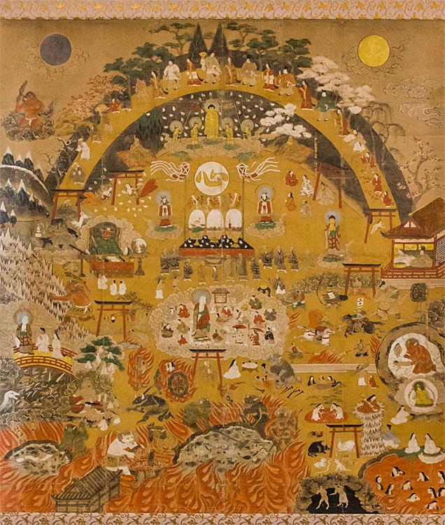西福寺 熊野歓心十戒図