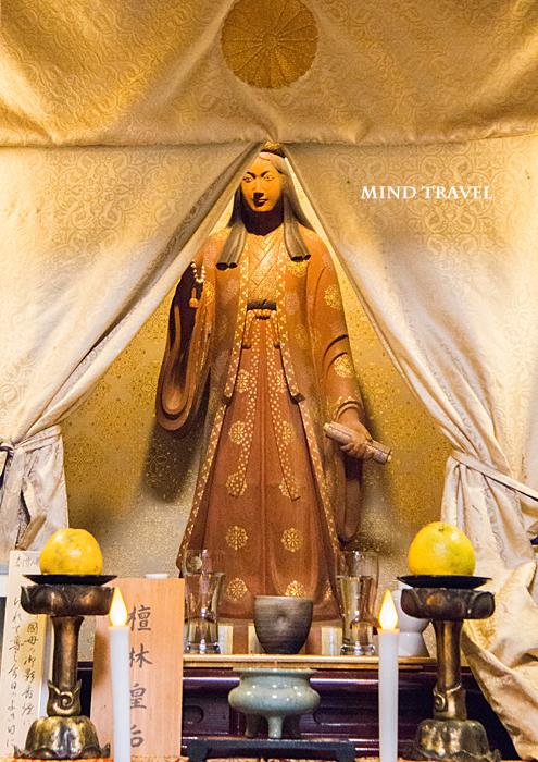 西福寺 檀林皇后像
