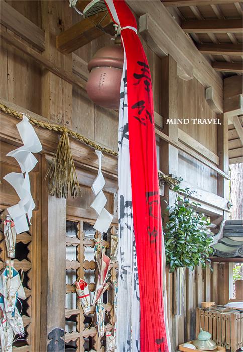 猿丸神社 鈴