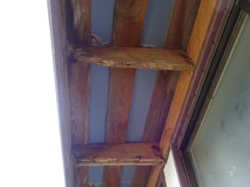 3庇の修理20190505