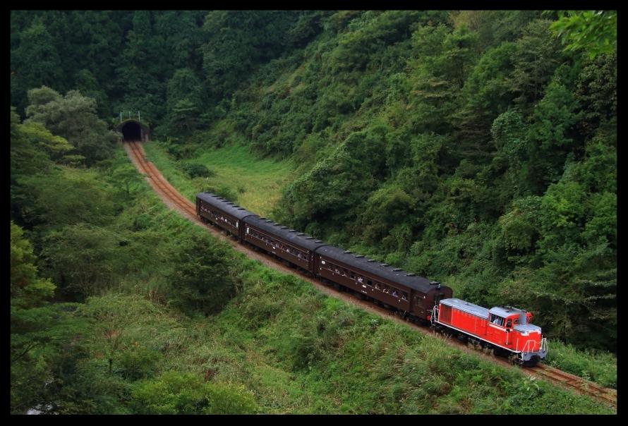 飯山線90周年記念号1
